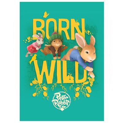 Peter Rabbit Born Wild Wall Sticker Mural
