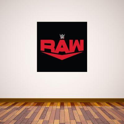 WWE Raw Logo Wall Sticker