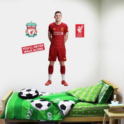 Andrew Robertson Wall Mural + Liverpool Wall Sticker Decal Set LFC