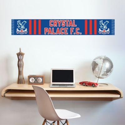 Crystal Palace Football Club - Scarf Design Wall Sticker