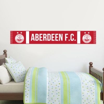 Aberdeen Football Club - The Dons Scarf Wall Sticker