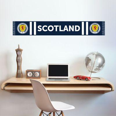 Scotland National Team - Bar Scarf Wall Sticker