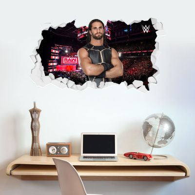 WWE - Seth Rollins Broken Wall Sticker