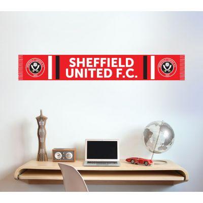 Sheffield United F.C. - Scarf Wall Sticker