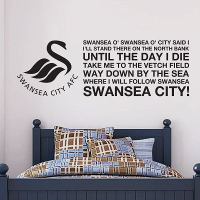 Swansea City Football Club - 'North Bank' Song Wall Sticker