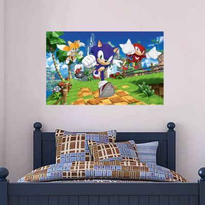 Sonic The Hedgehog - Sonic and Characters Wall Mural SONIC10