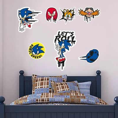Sonic The Hedgehog - Sonic Wall Sticker Set