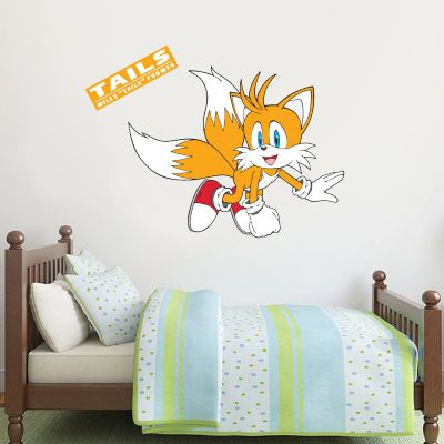 Sonic The Hedgehog - Tails Wall Sticker