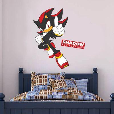 Sonic The Hedgehog - Shadow Wall Sticker