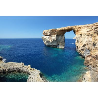 Coastline Arched Cliff Wall Mural