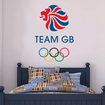 Official Team GB Logo Wall Sticker