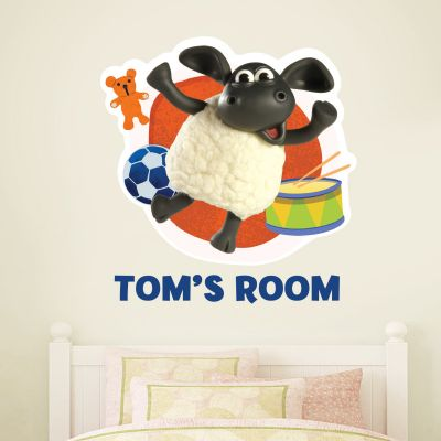 Timmy Time - Personalised Timmy Wall Sticker
