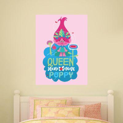 Trolls - Queen Poppy Wall Sticker