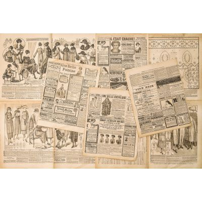 Vintage News Papers Wall Mural