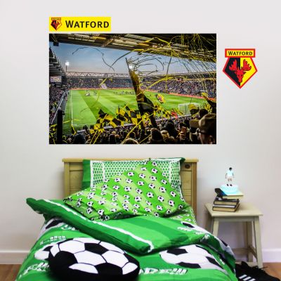 Watford FC -  Vicarage Road Stadium Crowd Wall Sticker