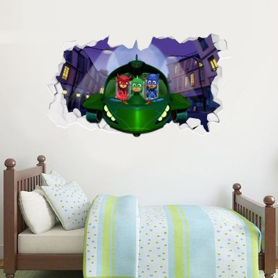 PJ Masks: Gekko Mobile Broken Wall Sticker