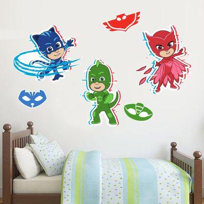 PJ Masks: Character Wall Sticker Set