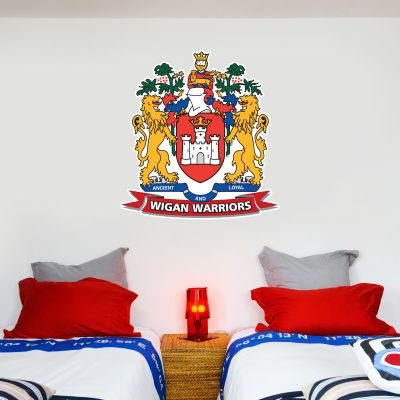 Wigan Warriors Rugby Club Crest Wall Sticker