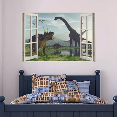 Dinosaur Wall Sticker Dino Land Window