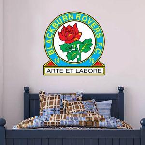 Blackburn Rovers F.C. - Crest + Riversiders Wall Sticker Set