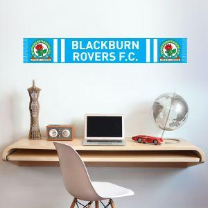 Blackburn Rovers F.C. - Bar Scarf Wall Sticker