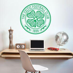 Celtic Football Club - Celts Crest + Wall Sticker Set