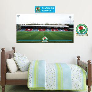 Blackburn Rovers F.C. - Ewood Park Stadium + Riversiders Wall Sticker Set