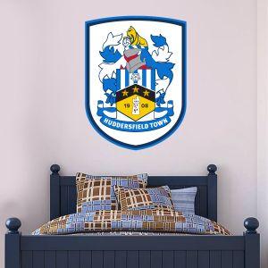 Huddersfield Town Football Club - Crest + Terriers Wall Sticker Set