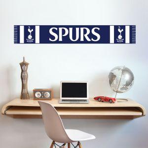 Tottenham Hotspur Football Club - Scarf Wall Sticker Vinyl