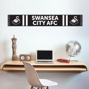 Swansea City Football Club - Swans Scarf Wall Sticker