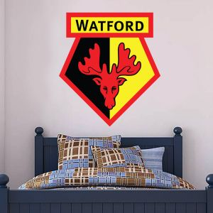 Watford FC - Club Badge Wall Sticker