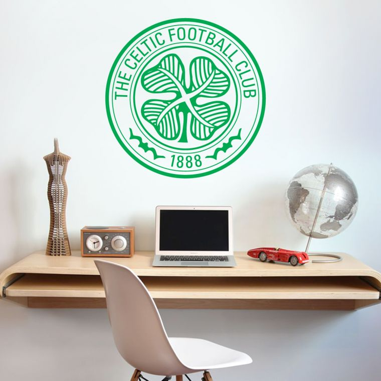Beautiful The Home Of Football Wall Art Celtic Football Club Crest U0026 Wall Sticker Set  Official Merchandise Decal Football The Official Home Of Football Wall  Stickers, ... Part 6
