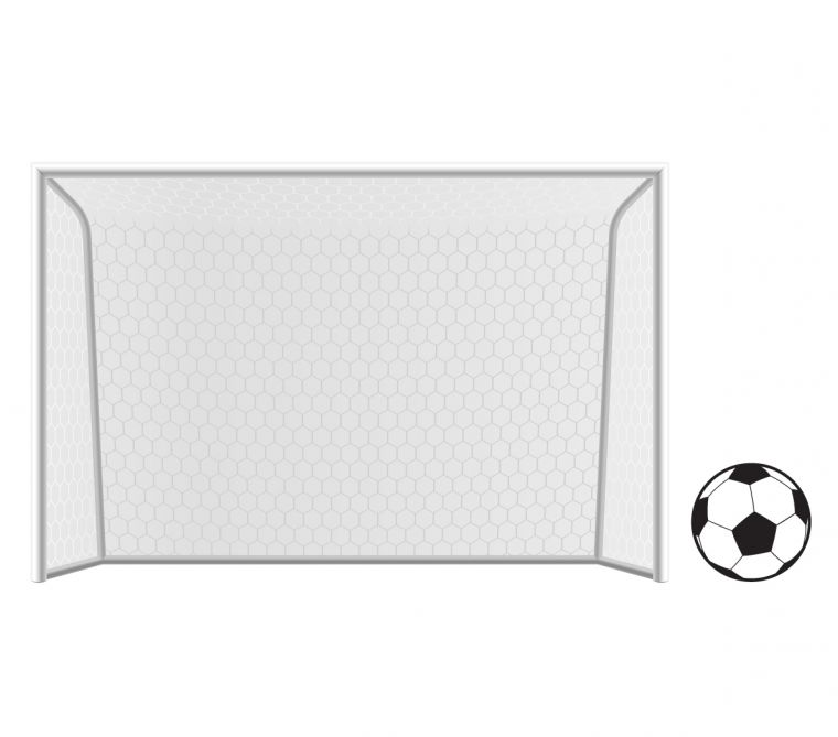 The Official Home Of Football Wall Stickers Football Net Wall