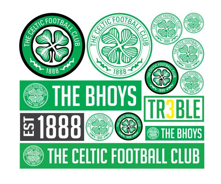 Buy Celtic Fc Stickers Bahuma Sticker