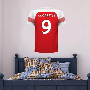 Arsenal Football Club -  Shirt Personalised Name & Number Wall Mural