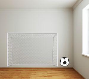 Football Net Wall Sticker