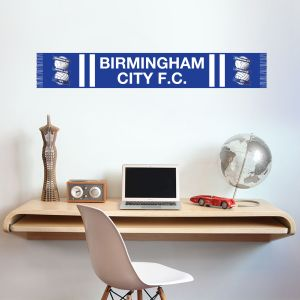 Birmingham City F.C. Bar Scarf Wall Sticker