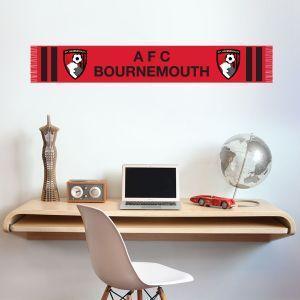A.F.C Bournemouth - Bar Scarf Wall Sticker