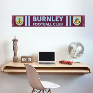 Burnley Football Club Bar Scarf Wall Mural Sticker