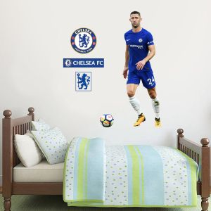 Chelsea FC - Gary Cahill Player Decal + CFC Wall Sticker Set