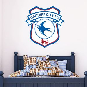 Cardiff City FC - Crest Wall Sticker