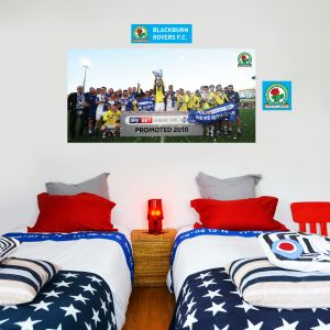 Blackburn Rovers F.C. - Promotion Celebrations (2) + Riversiders Wall Sticker Set