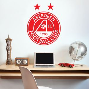 Aberdeen Football Club Crest Wall Sticker