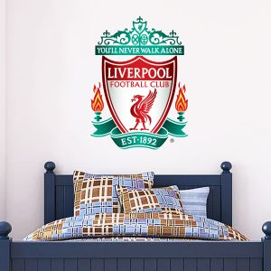 Liverpool Football Club Crest & Wall Sticker Set