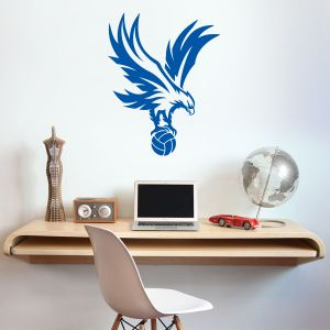 Crystal Palace F.C. 'Eagle' Badge Wall Sticker