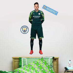 Manchester City FC - Ederson 2019 Player Decal + Wall Sticker Set