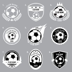 Custom Football Logo Wall Sticker