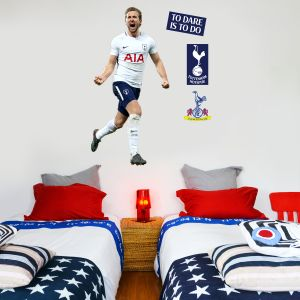 Tottenham Hotspur FC - Harry Kane Celebrating Wall Mural + Spurs Wall Sticker Set