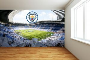 Manchester City FC - Etihad Stadium Full Wall Mural
