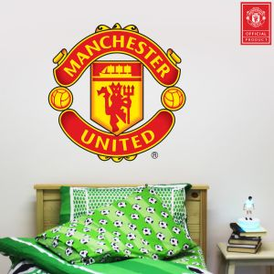Manchester United F.C. Crest Wall Sticker